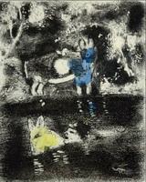 Иллюстрация к басне Два Осла