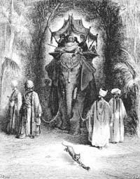Крыса и Слон (Г. Доре)