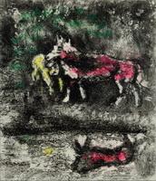 Иллюстрация к басне Волк и Ягненок