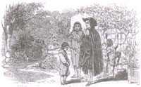 Школьник, Наставник и Хозяин сада (Ж. Давид)