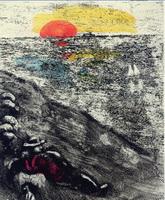Иллюстрация к басне Пастух и Море
