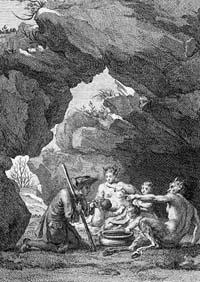 Сатир и Прохожий (Ж.-Б. Удри)