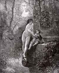 Фортуна и Дитя (Г. Доре)