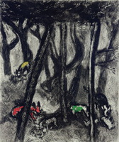 Иллюстрация к басне Волки и Овцы