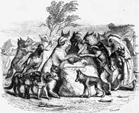 Волки и Овцы (Гранвиль)