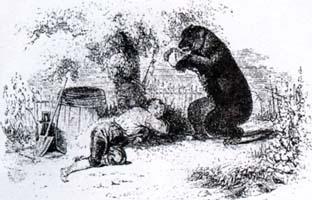 Пустынник и Медведь (Ж. Давид)