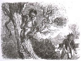Лисица и Кот (К. Жирарде)