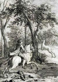 Мстительный Конь и Олень (Удри)