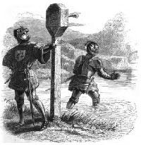 Два Витязя и Талисман (Гранвиль)