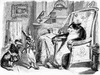 Кот, Ласочка и Кролик (Гранвиль)
