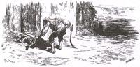 Фермер, Собака и Лисица (Г. Доре)