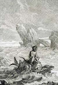 Обезьяна и Дельфин (Удри)