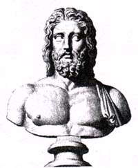 Зевс (Юпитер). Гравюра