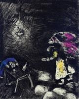 Иллюстрация к басне Пьяница и его Жена