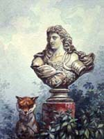 Лисица и Бюст (А. Делире)