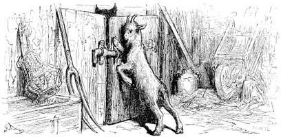 Волк, Коза и Козленок (Г. Доре)