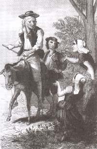 Мельник, его Сын и Осел (Дезандр)