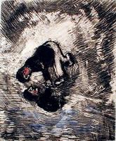 Иллюстрация к басне Человек и его Изображение
