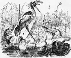 Лягушки, просящие Царя (Гранвиль)