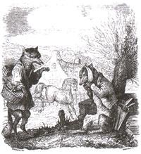 Лисица, Волк и Лошадь (Бушо)