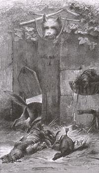 Фермер, Собака и Лисица (Е. Ламберт)