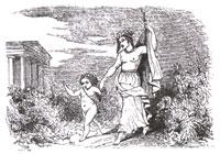 Амур и Безумие (Ж. Давид)