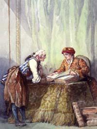 Откупщик и Сапожник (А. Делире)
