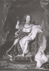 Людовик XV в возрасте 5 лет (Г. Ригo)
