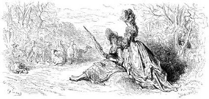Филомела и Прокна (Г. Доре)