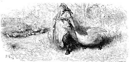 Лебедь и Повар (Г. Доре)