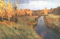 Золотая осень (И.И. Левитан)