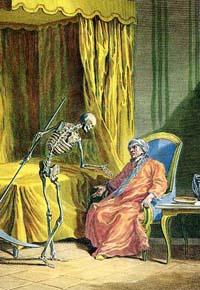 Смерть и Умирающий (Удри)