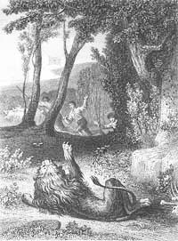 Лев и Комар (Т. Жоанно)