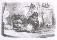 Мартышка и Кот (Ж. Давид)