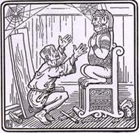 Язычник и деревянный Идол (Р. Хейвей)