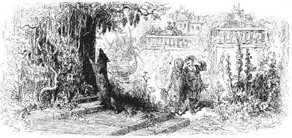 Лисица и Виноград (Г. Доре)