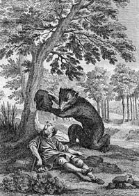 Пустынник и Медведь (Удри)