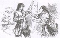 Два Голубя (Рисунок XIX в.)