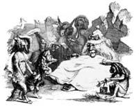 Лев, Волк и Лиса (Гранвиль)