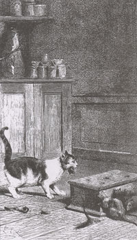 Старый Кот и Мышонок (Е. Ламберт)