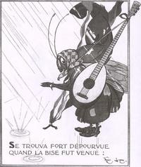 Стрекоза и Муравей (Ф. Лорио)