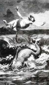 Обезьяна и Дельфин (Е. Ламберт)