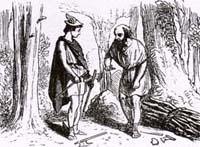 Дровосек и Меркурий (Адамард)