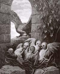 Орел и Сова (Г. Доре)