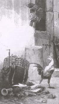 Петух и Жемчужное зерно (Е. Ламберт)