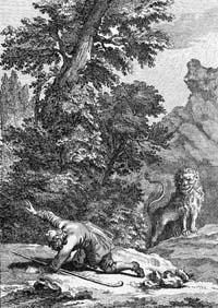 Пастух и Лев (Удри)