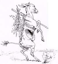 Лев и Осел на охоте (Вимар)