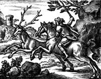 Мстительный Конь и Олень (Ф. Шово)