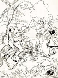 Мельник, его Сын и Осел (Р. Томен)