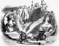 Предостережение Богов Симониду (Гранвиль)